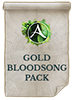 GOLD BLOODSONG PACK