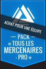 Achat pour une équipe:Atlas Reactor–Pack «Tous les mercenaires-Pro»