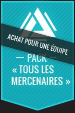 Achat pour une équipe:Atlas Reactor–Pack «Tous les mercenaires»