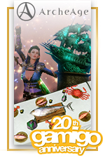 20th Anniversary Bundle - Gamigo 20th Anniversary