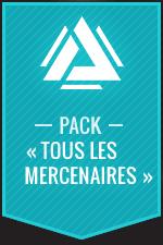 Atlas Reactor–Pack «Tous les mercenaires»