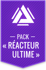 Atlas Reactor – Pack « Réacteur ultime »