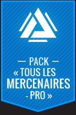 Atlas Reactor–Pack «Tous les mercenaires-Pro»