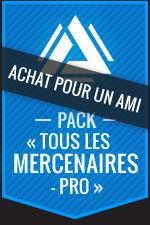 Achat pour un ami:Atlas Reactor–Pack «Tous les mercenaires-Pro»